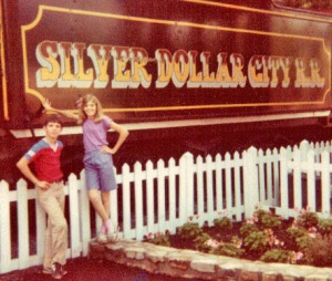 The Silver Dollar City train.