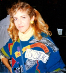 Hard Rock Café, New Orleans, 1989.  Check out my sweater!