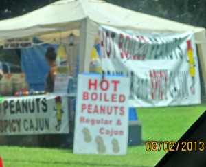 Nothing like spicy Cajun peanuts on a hot August day.