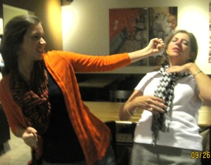 Owww!  A vicious fight breaks out at Starbucks!  With two respectable mommies.  Oh, the shame!