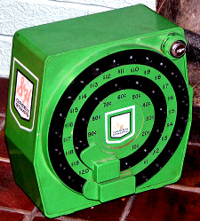 The big, bad green machine.  Se the little key where you would load the stamps and then lock them up?