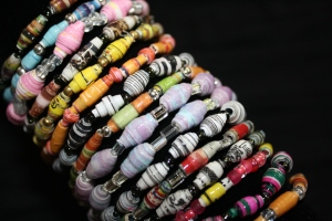 Absolutely Stephanie bracelets.  The winner will be able to pick one similar to these.
