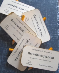 My business cards.