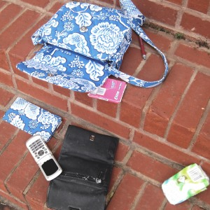 My purse and it's contents.