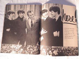 The Beatles with Ed Sullivan.
