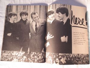 The Beatles with Ed Sullivan.
