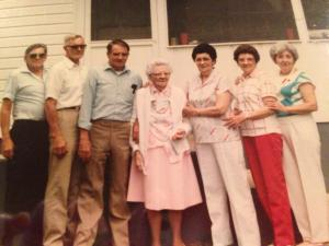 "The family in front of the ""old home place"" in Marengo County."