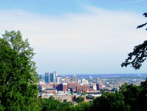 Birmingham, Alabama is a short road trip--not much more than an hour away.