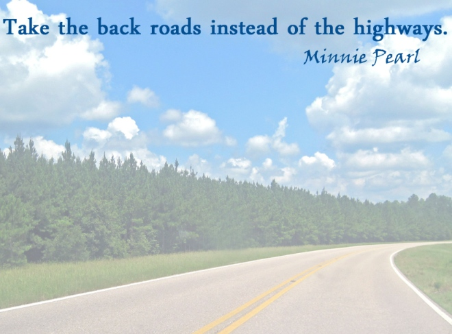 Quote by country music legend, Minnie Pearl.