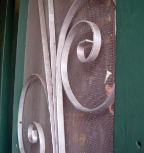 Door to Harrison Brothers.