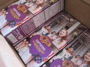 Samoas -- My favorite!
