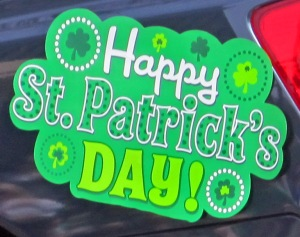 Happy St Patrick's Day Sign