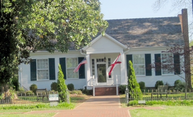 Ivy Green, Helen Keller's Birthplace.