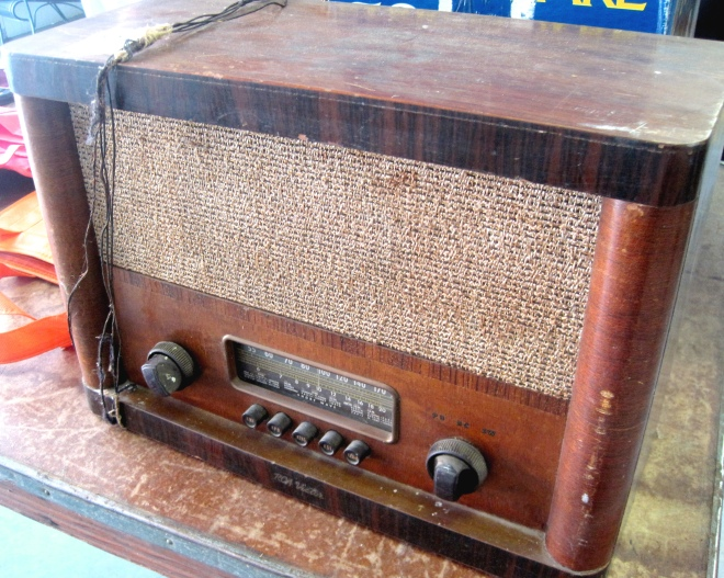 Antique radio.