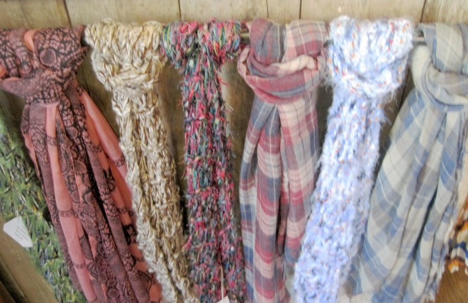 Cool scarves.