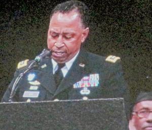 General Dennis L. Via, Commencement Speaker.