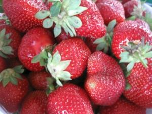 Yummy strawberries!