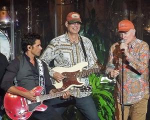 Stamos and the Beach Boys.