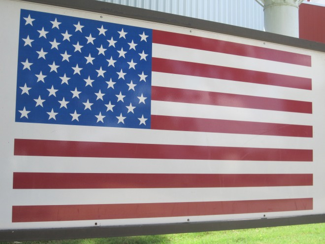 The world's most beautiful flag.