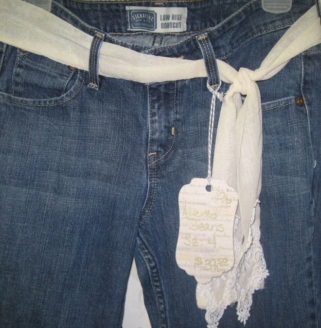 Easy peasey way to dress up your jeans.