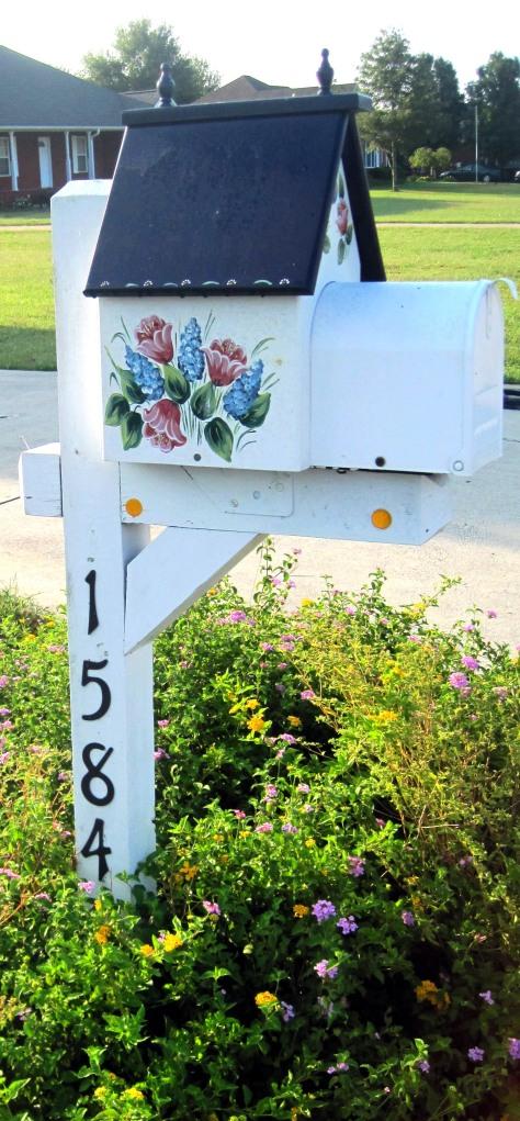 Pretty mailbox!