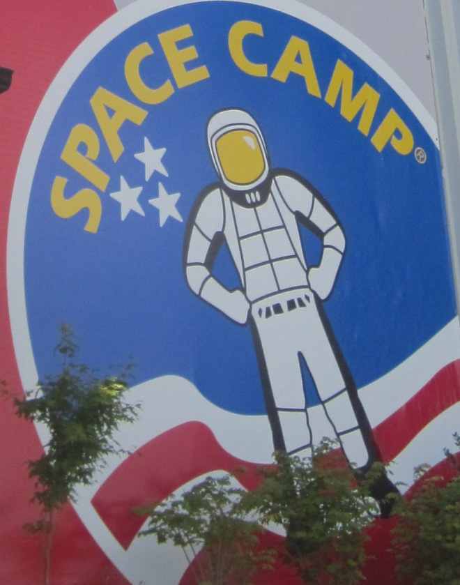 Kids come from all over to visit Space Camp and Aviation Challenge.  One day I'll have to tell you about when I was a counselor.
