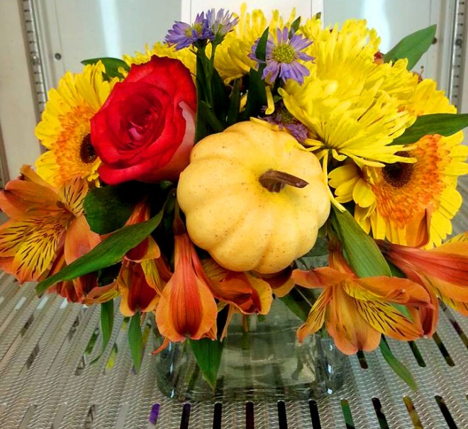 Another arrangement from Rabbit's Nest Florist and Gifts.