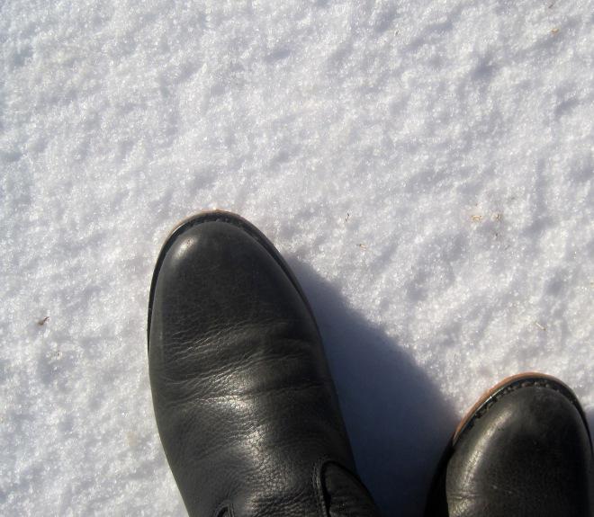 Not snow.