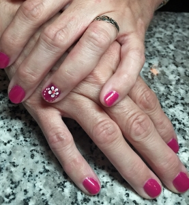 Manicure courtesy of Hughes Road Salon Studio