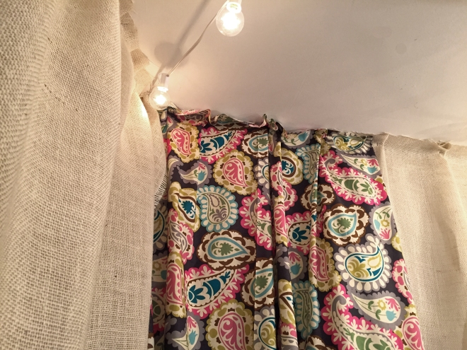 Check out this Pin-worthy curtain idea!