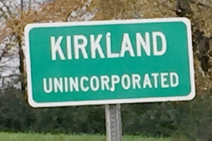 On the way to Fayetteville, I pass several of these little signs.  Reminds me of my unincorporated hometown of Jachin, Alabama.