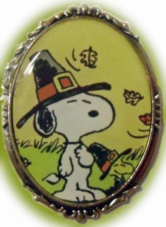SnoopyBrooch