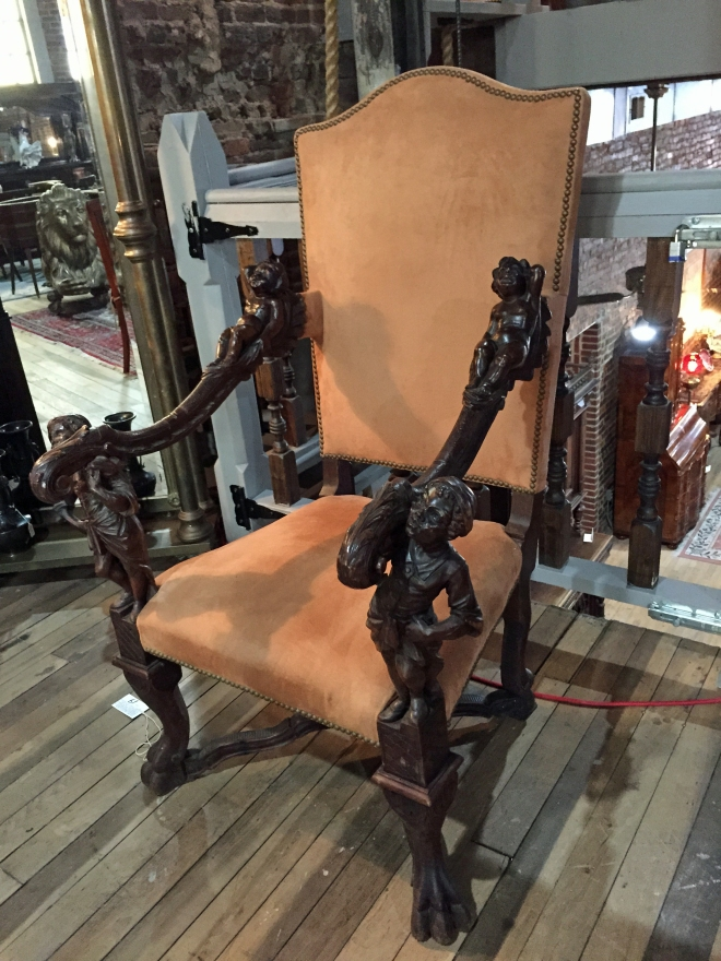 Italian_Carved_Walnut_Armchair2