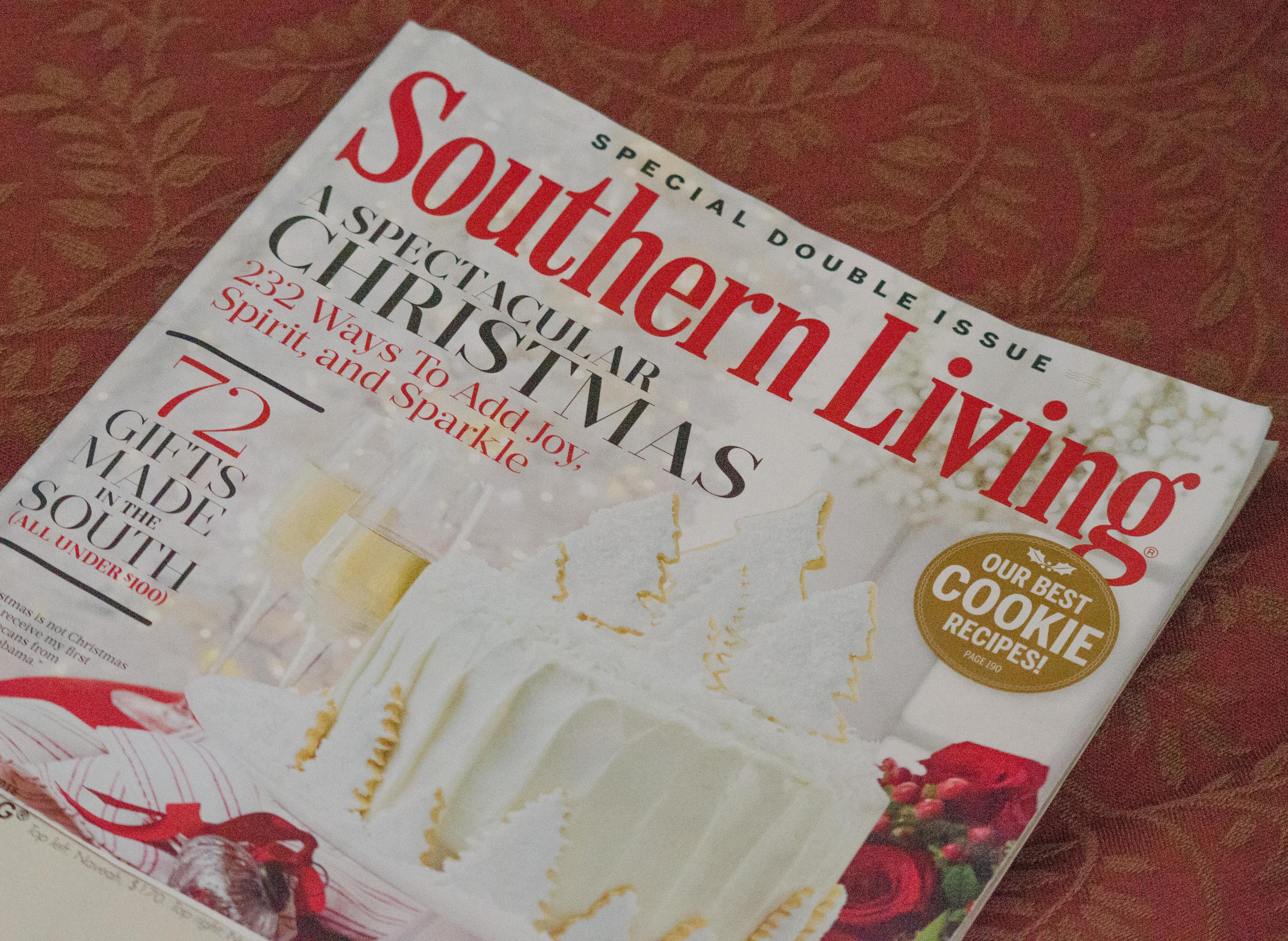 SouthernLivingChristmas2017, magazine